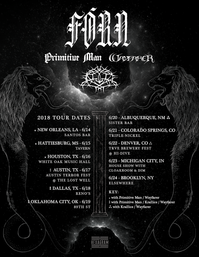Forn - Tour Dates