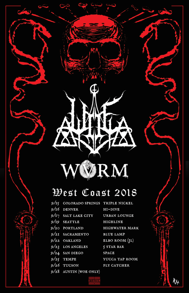 Woe_West Coast Tour 2018